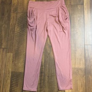 Free People mauve pink jogger skinny pants